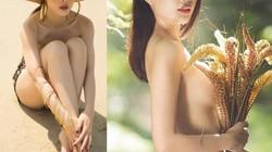 Muôn kiểu che chắn của mỹ nhân Việt khi chụp ảnh gợi cảm