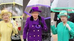 Bộ sưu tập ô cực thời trang của Nữ hoàng Anh