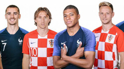 """Phân tích tỷ lệ Pháp vs Croatia (22h00 ngày 15.7): Tin tưởng """"Những chiến binh ca rô"""""""