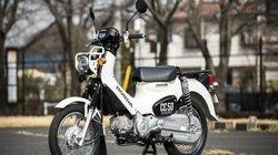 Ngắm Honda Cross Cub 50 màu trắng hiếm đẹp như bạch mã