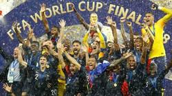 Chùm ảnh ĐT Pháp đăng quang tại World Cup 2018