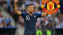 """CHUYỂN NHƯỢNG (16.7): M.U rải """"bom tiền"""" tậu Mbappe từ PSG"""