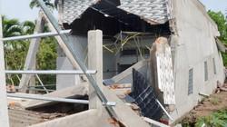 Căn nhà hơn nửa tỷ đồng bỗng dưng đổ sập khi vừa xây xong