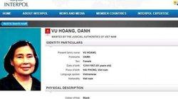 Bộ Công an truy nã quốc tế trùm ma túy là chị của Dung Hà