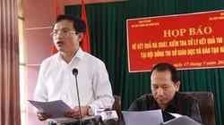 Gian lận thi cử Hà Giang: Phát hiện nhiều tin nhắn nhờ sửa điểm thi
