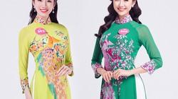 Thí sinh Hoa hậu Việt Nam (miền Bắc) mặc áo dài thanh lịch