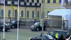 Cận cảnh siêu xe chống đạn mới của Putin lần đầu lăn bánh ở nước ngoài