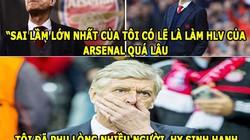 ẢNH CHẾ BÓNG ĐÁ (18.7): Wenger tiết lộ sự thật gây sốc ở Arsenal