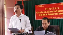 Bộ Công an vào cuộc thế nào trong vụ sửa điểm thi ở Hà Giang?