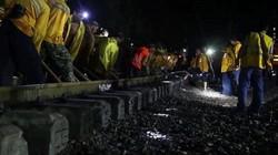 Clip: 500 công nhân Trung Quốc xây 30 km đường sắt chỉ mất 3,5 giờ