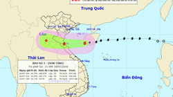 Bão số 3 bất ngờ đổi hướng, những tỉnh nào nằm trong tâm bão?