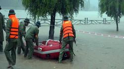 Bão vừa qua, 2 huyện của Quảng Ninh đã ngập trong nước lũ