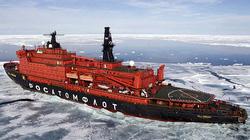 Sức mạnh tàu nguyên tử phá băng giúp Nga thống trị Bắc Cực