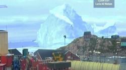 Núi băng trôi 11 triệu tấn lớn nhất lịch sử đe dọa tạo sóng thần