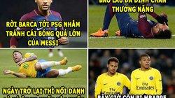 ẢNH CHẾ BÓNG ĐÁ (20.7): Mbappe khiến Neymar bị lu mờ