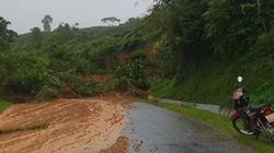 Quốc lộ 32 qua Yên Bái bị tê liệt do sạt lở
