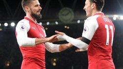 Giroud thừa nhận từng ghen tị với… Ozil tại Arsenal
