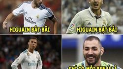 ẢNH CHẾ BÓNG ĐÁ (23.7): Ronaldo thua Benzema, Pele 'ám quẻ' Alisson