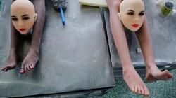 Bên trong xưởng sản xuất búp bê tình dục đầy tham vọng ở TQ
