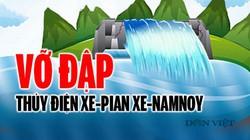 Toàn cảnh vỡ đập thủy điện Xe-Pian Xe-Namnoy ở Lào
