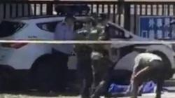 TQ: Bắt nghi phạm gây nổ bom trước Đại sứ quán Mỹ ở Bắc Kinh