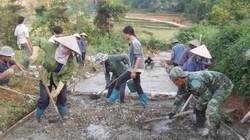 Nhiều thôn bản, ấp xây dựng nông thôn mới cực kì gian khó