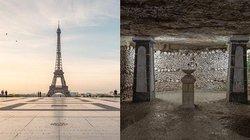 Hầm mộ toàn đầu lâu dưới chân tháp Eiffel và bí ẩn nằm dưới những địa danh nổi tiếng