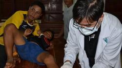 """Bác sĩ Việt Nam """"trắng đêm"""" cứu chữa sau vụ vỡ đập thủy điện Lào"""