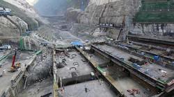Cận cảnh công trường xây dựng trạm thủy điện khổng lồ tại Trung Quốc