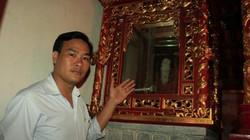 """Lạ lùng vào ngục…""""trộm"""" bia đá 80kg về hóa trang, giấu trong chùa"""