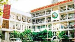 Điểm chuẩn 2018: Đại học Tài nguyên Môi trường