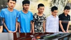 Thanh Hóa: Bắt giữ nhóm thanh niên chuyên bảo kê máy gặt lúa