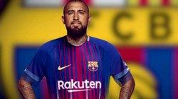 """Đội hình siêu """"khủng"""" của Barcelona khi có Arturo Vidal"""