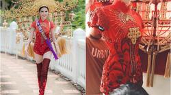 Người đẹp Việt nhận có vòng ba 1 mét bị phản ứng vì mặc áo dài lai áo tắm