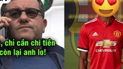 "Mino Raiola ""đi đêm"" với Barcelona, Pogba rời M.U?"
