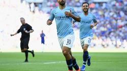 CLIP: Aguero lập cú đúp, Man City giành Siêu cúp Anh