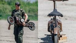 Môtô siêu nhỏ cho lính dù đặc nhiệm chuyên đánh úp