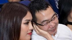 Lan Khuê âu yếm tình tứ tay trong tay với chồng sắp cưới ở sự kiện