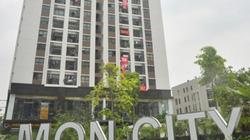 Cư dân treo băng rôn yêu cầu HD Mon Holdings đo lại diện tích căn hộ