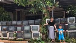 Ảnh hàng rào bằng ti vi cũ ở Việt Nam được lên báo nước ngoài
