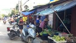 Hạ Long: Chợ cóc ngang nhiên hoạt động gần trụ sở UBND phường