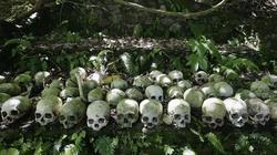 Rợn người với tục phơi thây người chết trong lồng tre trên đảo Bali