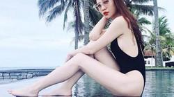 """Mặc bikini khoét cao, Đàm Thu Trang - bạn gái Cường Đô la lại """"đốn tim"""" fan"""