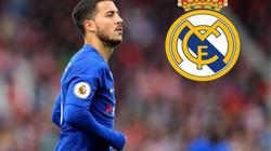 """CHUYỂN NHƯỢNG (12.8): Real dùng """"tiến tấn"""" dụ Chelsea bán Hazard"""