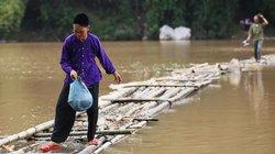 Con đường tre mạo hiểm dài hơn 100m trên sông ở Lạng Sơn