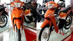 Honda Wave Alpha màu cam về đại lý, khuyến mãi nửa triệu đồng