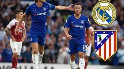 """CHUYỂN NHƯỢNG (22.8): Real và Atletico """"đại chiến"""" vì cặp sao Chelsea"""