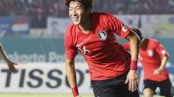 """ASIAD 18: """"Messi xứ Hàn"""" ghi bàn, Olympic Hàn Quốc vào tứ kết"""