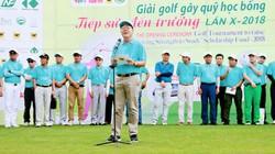 Giải golf gây quỹ học bổng Tiếp sức đến trường lần thứ 10, năm 2018: Gần 1000 tân sinh viên sẽ được nhận học bổng