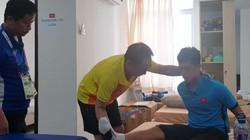 Cập nhật tình trạng chấn thương của trung vệ Olympic Việt Nam